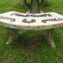 French Garden Table & Benches