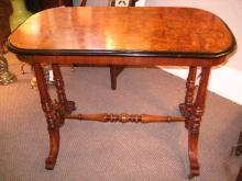 English Walnut Console Table
