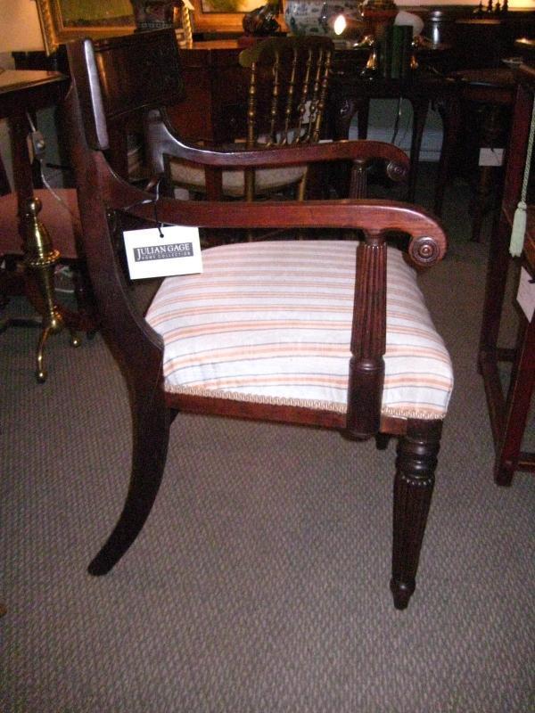 English Regency Arm Chair