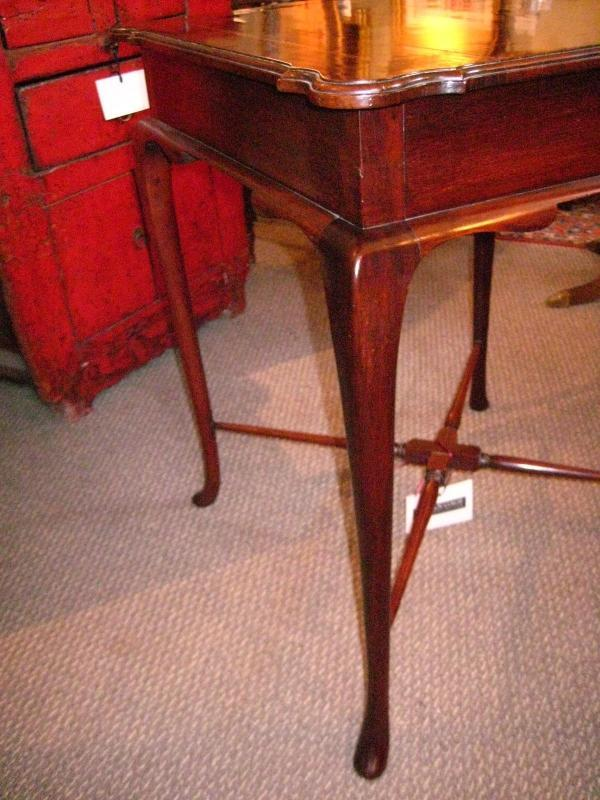 English Inlaid Side Table