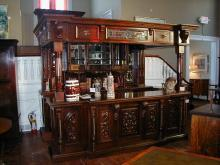 English Mahogany Bar