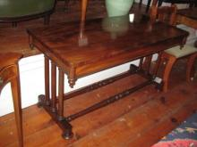 English Library Table in Mahogany