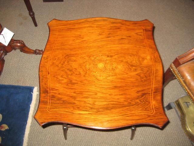 English Rosewood Side Table