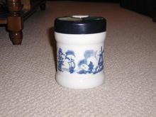 Opaline Tobacco Jar