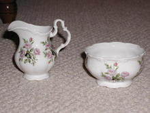 Royal Albert Bone China sugar and creamer
