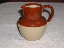 English Stoneware Pitcher