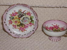 Vintage Teacup and Saucer