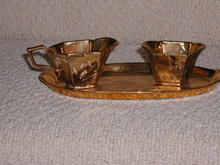 Goldware 3 Piece Sugar/Cream Set