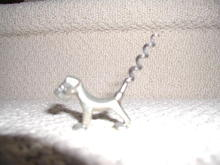 English Metal Dog Corkscrew