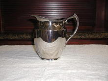 Poole & Co.Silverplated Water Pitcher