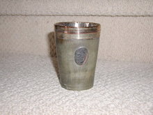 Sterling Rim Horn Cup