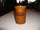 Vintage English Stoneware Tobacco Jar