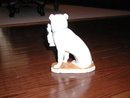 German Porcelain Pug Dog Figurine
