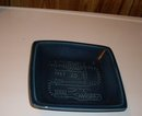 Plaque / Dish / possible Ashtray _ HEAVY Quality _ Designed for Medicine Hat Brick + Tile Co. LTD by Luke Lindoe _c1960's_70's