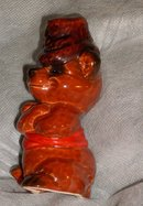 Collectible Goebel W. Germany Porcelain Bear with Hat _ Cute Smile on Bear_ 5