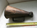 Megaphone _made of Tin metal with Wooden mouth piece_ approx 12