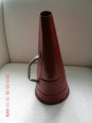Antique Megaphone...made of Tin metal__Large 17