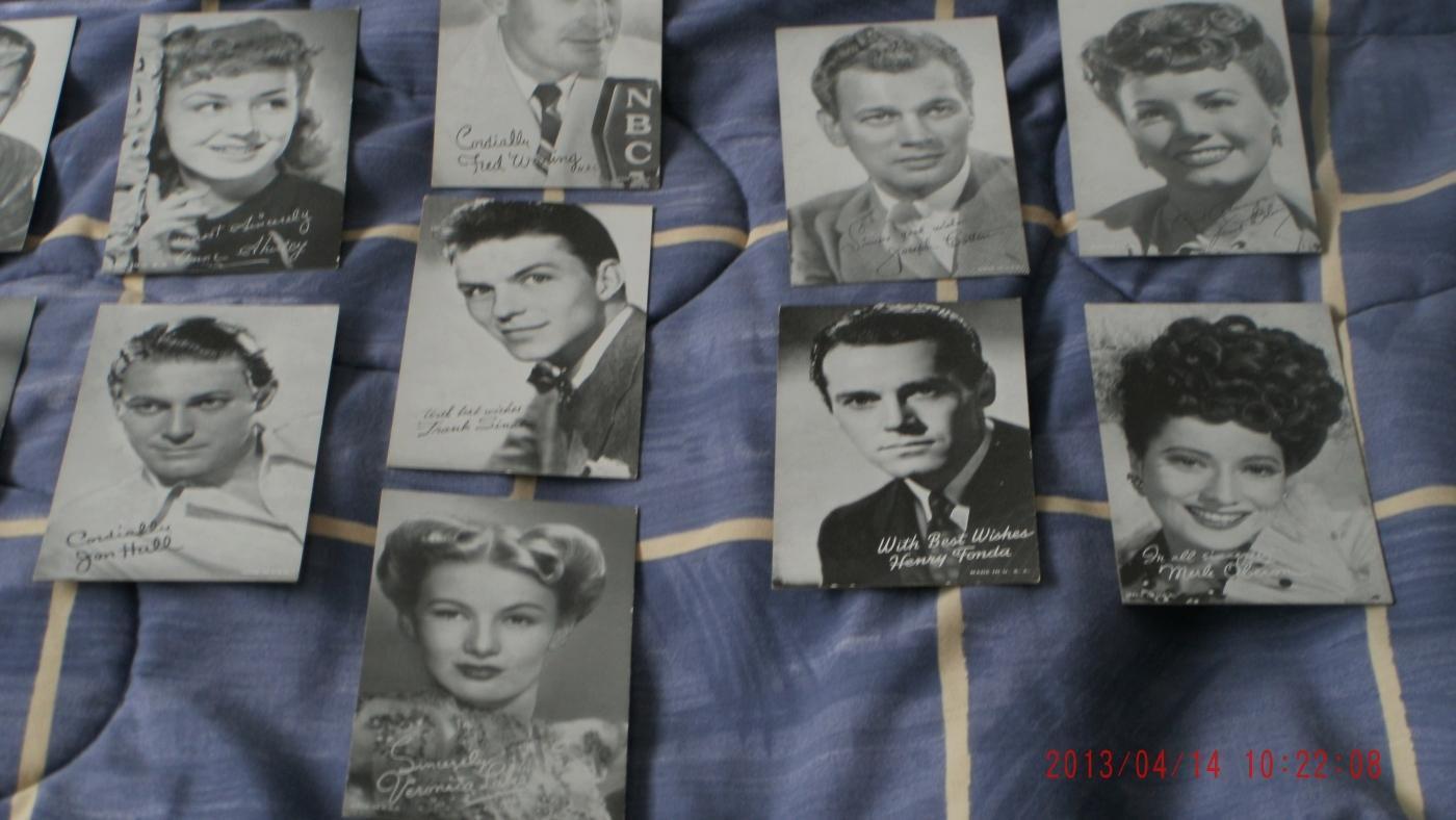 19 Vintage ARCADE Cards _ Exhibit Supply Co. Chicago USA _NBC Radio Television
