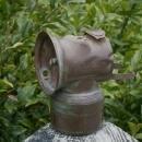 Antique MINERS Cap Lantern ARTIFACT Solid Brass Pat.1901