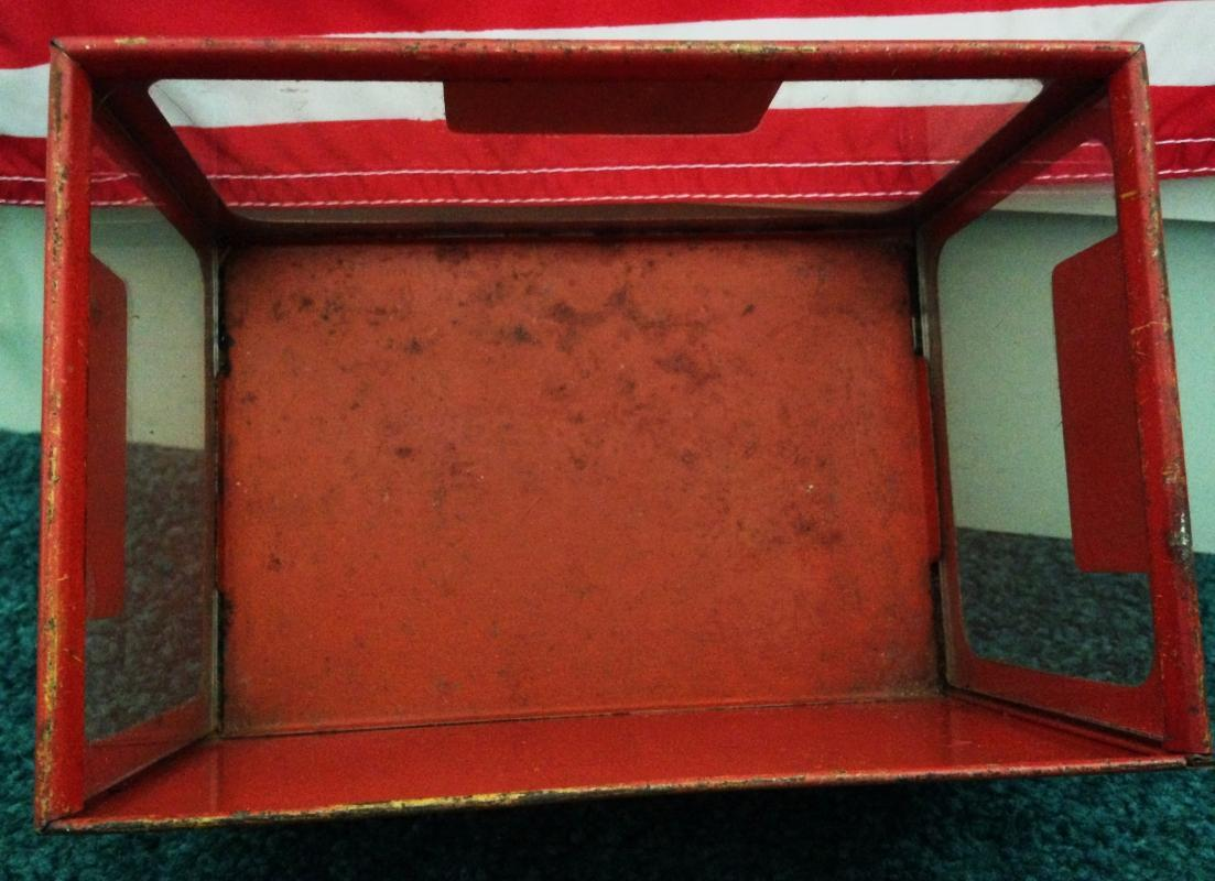 1920's CHICLETS GUM ADVERTISING Store Counter Display Case