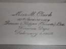 SILVER Cigarette Box  Bensen Hedges Presentation 1968_stamped epns