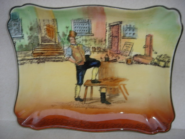 Royal Doulton  Plate TITLE: Sam Weller   in Beautiful Original Condition NO SALES TAXES to USA + NO SALES TAXES to CANADA