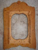 POKER ART Art Nouveau Picture Frame SOLID BIRDS EYE MAPLE construction
