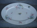 Porcelain ANTIQUE LARGE Heavy Duty  MEAT PLATTER / PLATE  Stamped Victoria Austria QUALITY  Showpiece at the Dining Room Table SIZE 19.25 Inches Long X 13.50