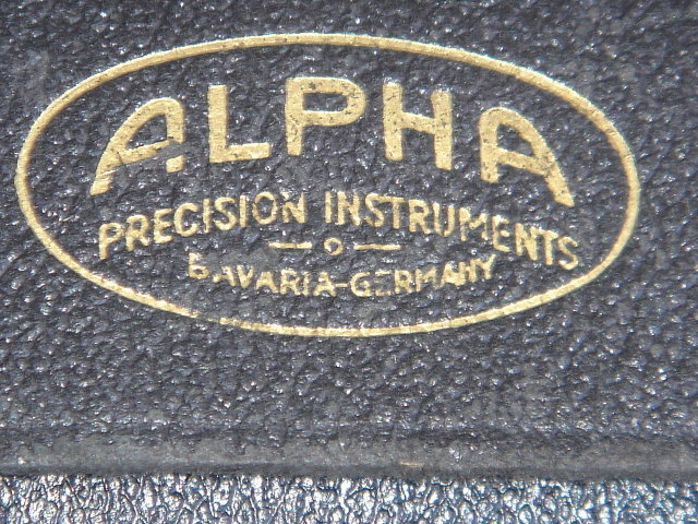 Makes a Great Gift ___For Architect or Drafting / Draftperson __Marine Nautical map planning___ ALPHA Precision Compass  Instruments BAVARIA - GERMANY