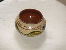 Antique Torquay Pottery SUGAR BOWL Motto Ware 1910-1920's