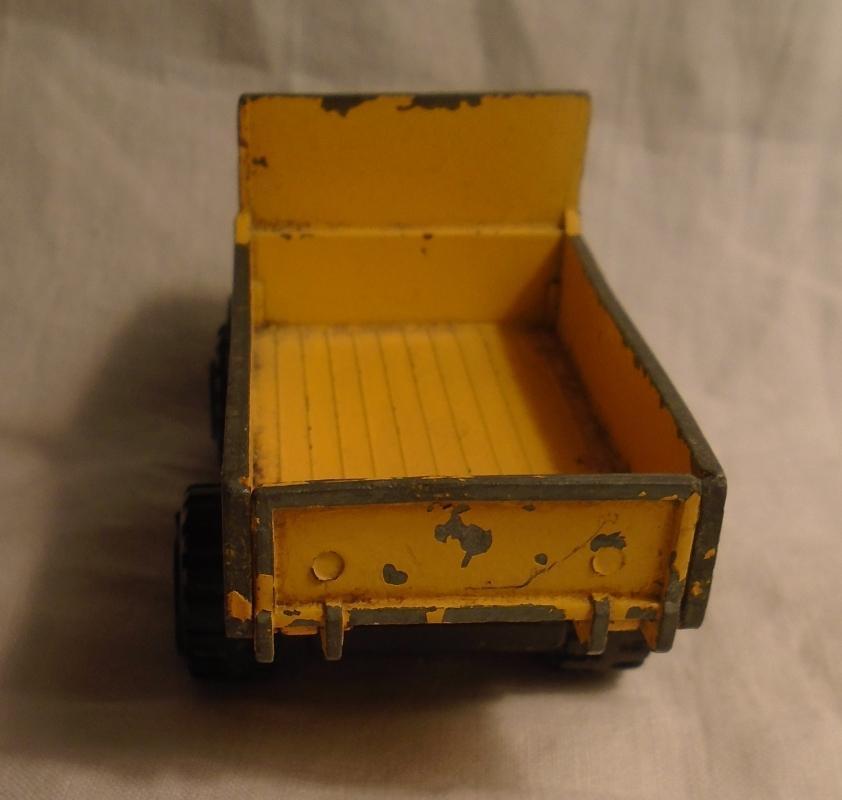 1960s 70s Pressed Steel TONKA Lorry flat deck box Metal mini Truck