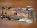 Collectible old JEEP DUMP TRUCK  with Dump Lever  ~ ALL STEEL CONSTRUCTION.