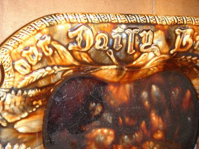 Suitable for Antique Roadshow_Spectacular _Better than Pictures Reveal_Antique WELDON Pottery Bowl  Inscribed