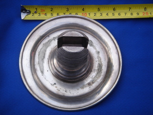 Circa 1938 _unmarked Railroad Logo CNR___Nickel SILVER Ashtray / Match Strike / Match Holder __HEAVY _Stamped  with Makers Mark INTERNATIONAL SILVER CO.