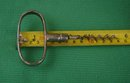 old Vintage Cork Screw__Corkscrew __Heavy Chrome over Iron__Good useable condition__