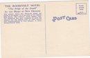 Vintage Postcard _The ROOSEVELT Hotel