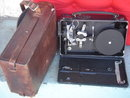 Antique Circa 1926 Cine Kodak Movie Camera Eastman Kodak co. Rochester, New York    Genuine Original Leather Case with strap.