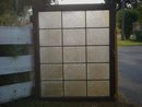 Antique B.C. Historical Artifact from old foundry NANAIMO,B.C. Very LARGE WINDOW with Washboard pattern LEADED Glass WINDOW Old Country Canada unusual 15 Panes and weighs 30 lbs uncrated