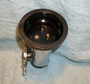 Nautical _Most unusal to Find in Mint Condition: Chrome SHIPS WHEEL Lighter. Circa 1952 _Owners bought at time of visit on The Delta Queen Paddlewheeler U.S.A. Note: Black Ring on Base Rare Find.