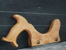 Circa 1900 _ Carpenter's STAIR SAW_ Wonderful condition_ Stamped on Steel Blade_ Henry Disston Canada _