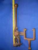 ANTIQUE , Vintage _ SOLID BRONZE _ Brass _CLINKER BOAT Throttle _Shift Lever