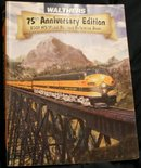 Collectible Near NEW old stock WALTHERS 75th Anniversary Edition 2007 HO Model Railroad Reference Book