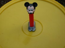 Limited Edition Fantasy PEZ Mickey Mouse with DANCING SHOES Candy Dispenser