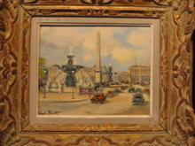 FRENCH STREET SCENE BY CHARLES BLONDIN