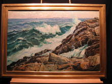 Pemquid Maine Seascape by Parker Gamage