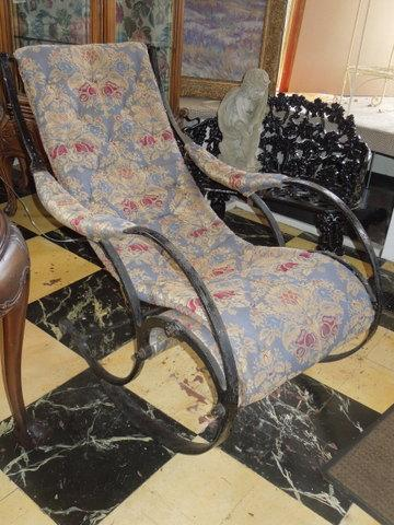 c- 1850, Wrought Iron, Winfield Rocker