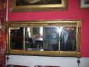 1830 gold leaf overmantel mirror