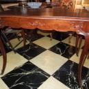 Late 19thc French style Mahogany Writing Table