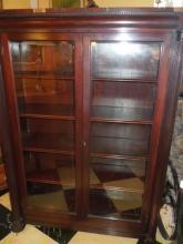 1900 American Mahogany Bookcase