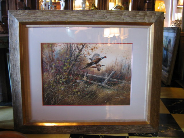 Sporting Art by Gregory F. Messier- Pheasants